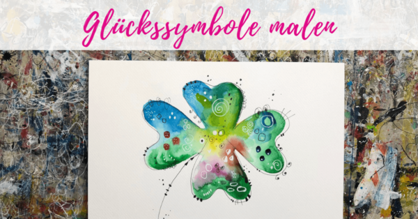 Glückssymbole malen