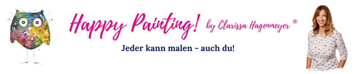 Happy Painting! by Clarissa Hagenmeyer