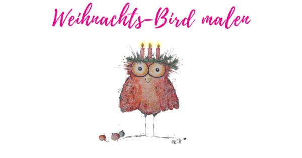 Happy Bird malen