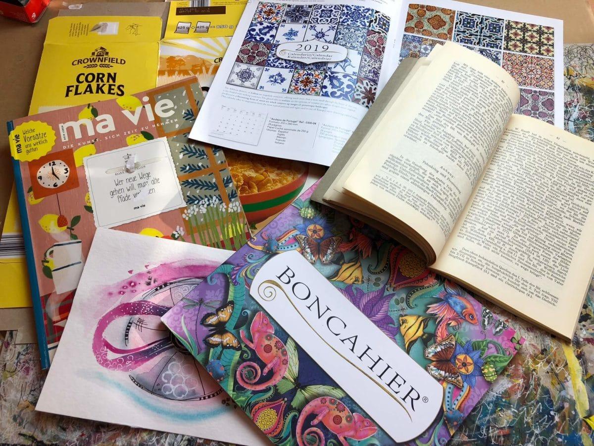 Art Journaling Papiere