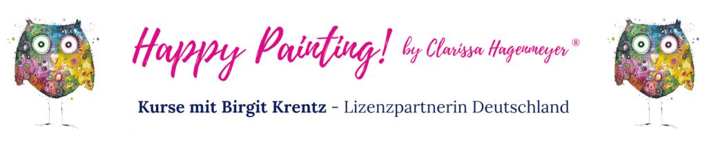 Happy Painting mit Birgit Krentz