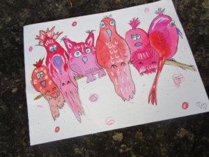 Happy Birds von Nicole Löchner!