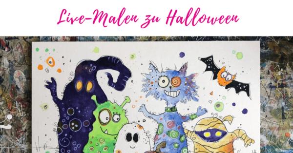 Malen zu Halloween