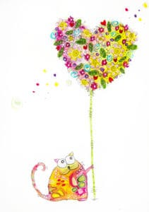 Eine Happy Cat von Claudia Marx!