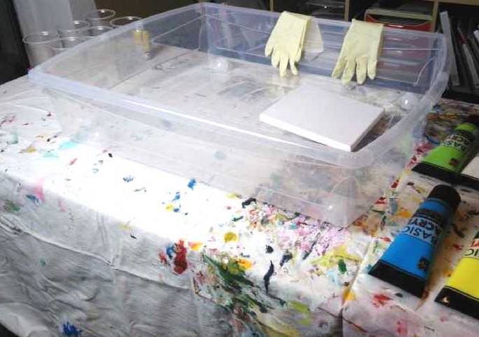 Acrylic Pouring Material