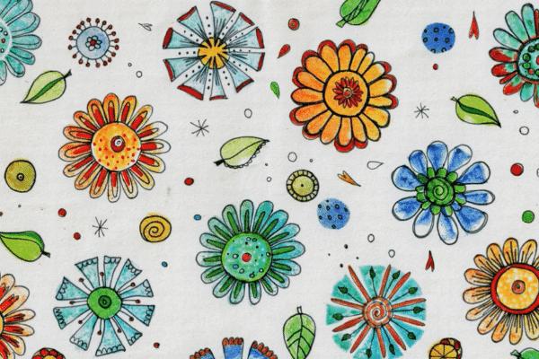 Blumen Stempel