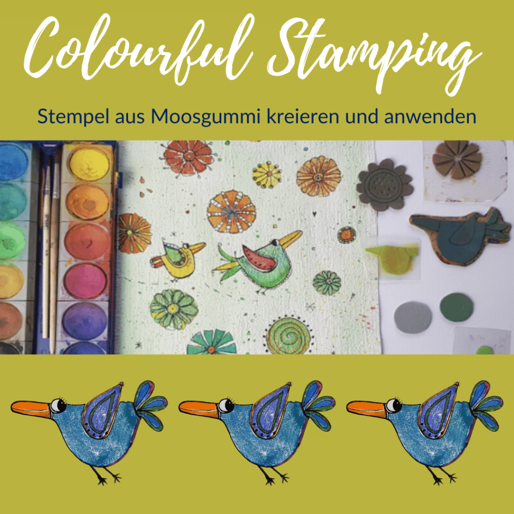 Colourful Stamping