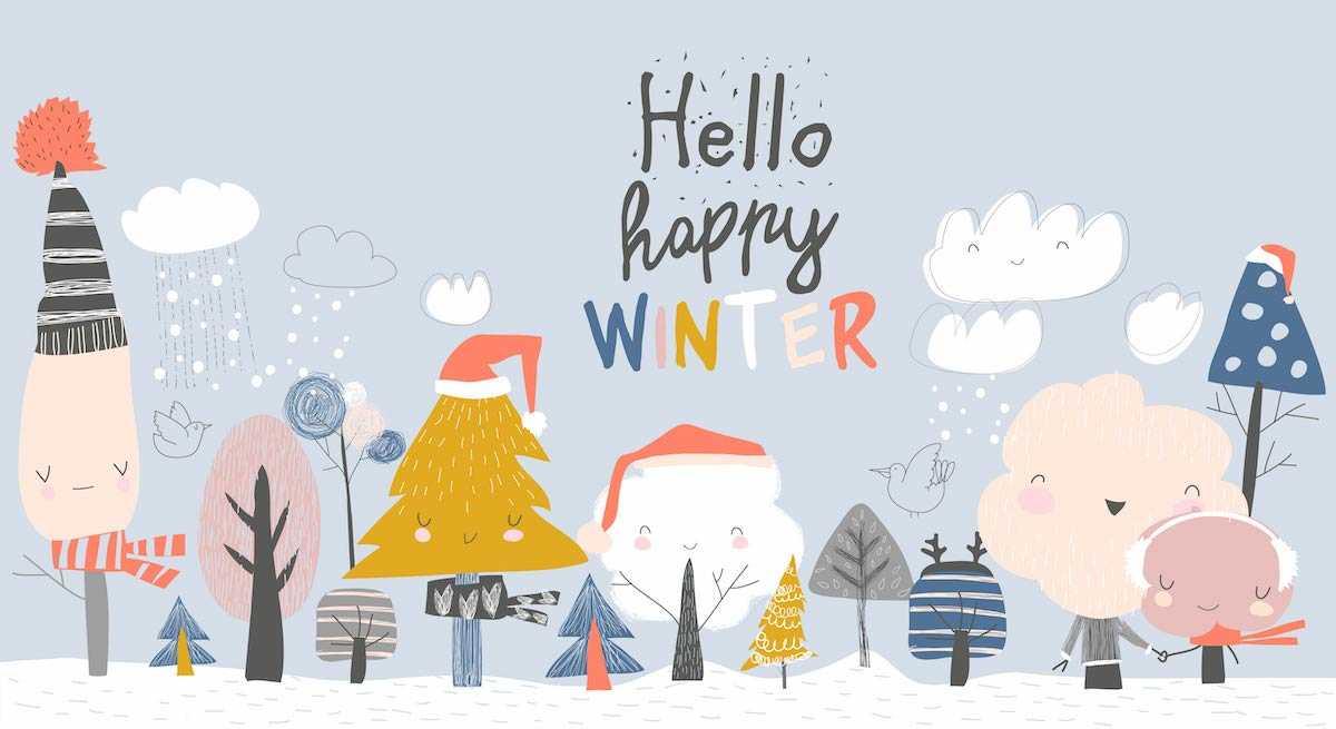 Winter malen