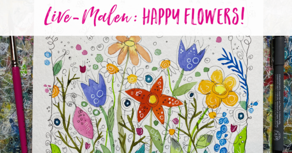 Blumen malen: Video