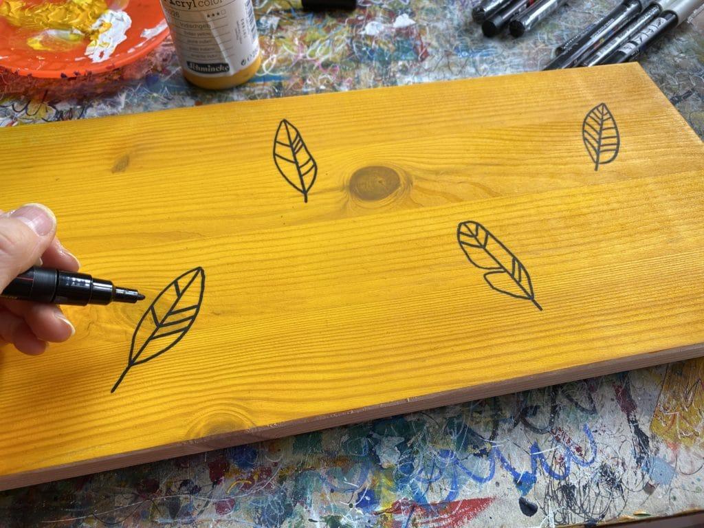 Boho DIY: Motive und Muster malen