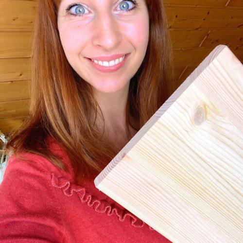 Boho DIY mit Holz