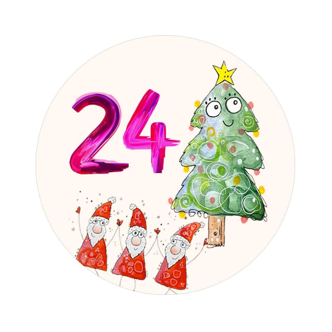 Kreativer Adventskalender Tag 24