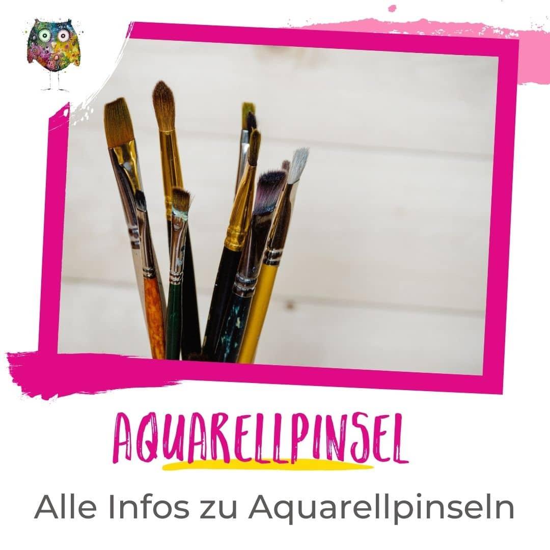 Aquarellpinsel Ratgeber