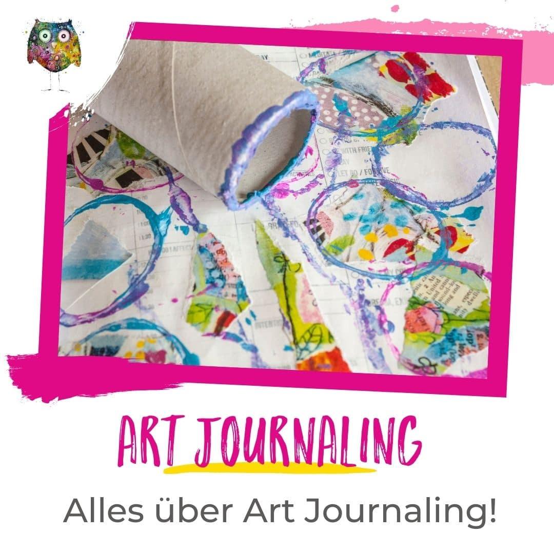 Art Journaling Tipps und Tricks