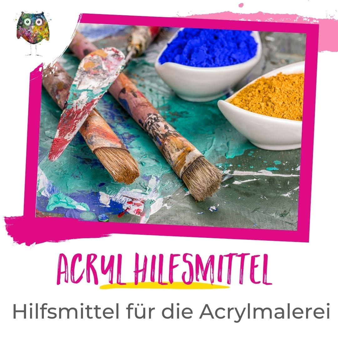 Acryl Hilfsmittel, Werkzeuge und Effekte