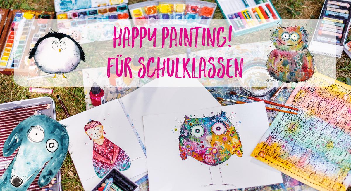 Happy Painting für Schulen