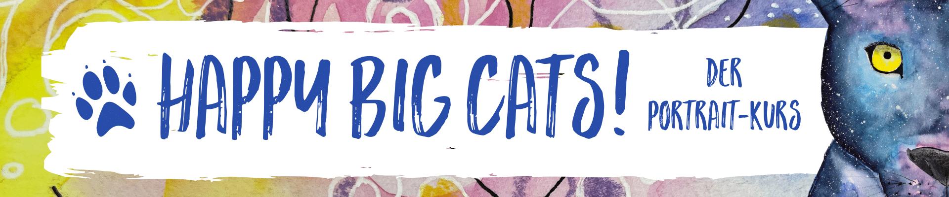 Happy Big Cats - der Portrait-Kurs