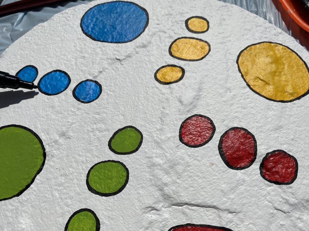 Posca Acrylmarker für die Spielfelder