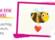 Anleitung Biene malen