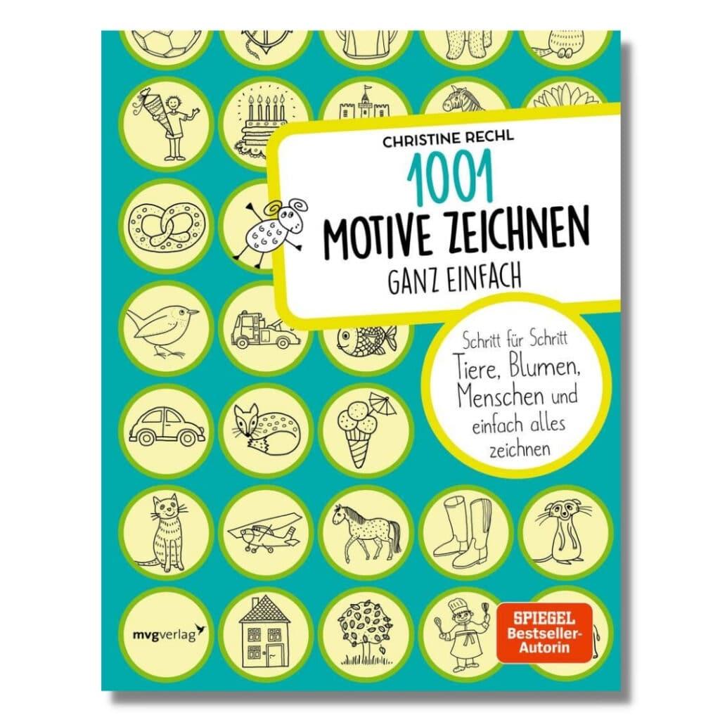1001 Motive zeichnen Buch